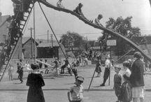 1900s playground equipment
