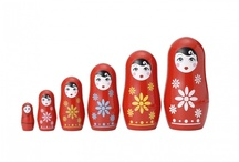 National specialities / Baby clothes, shoes, accessories with national characteristics like russian Matryoshka doll,