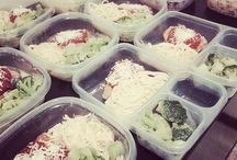 Prep meals and protein