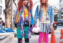 Tokyo street fashion ●☆★