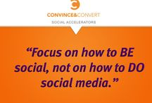 Social Media Tips / Pooled intelligence helps us all stay current on emerging trends.