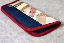 Brillenetuis / Brillenetuis aus japanischen Stoffen von NORIKO handmade