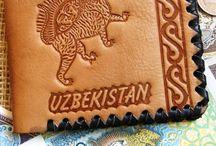 Handmade leather wallet . Кожаные портмоне   ручной работы . / Handmade leather  wallet . Кожаные портмоне ручной работы с декоративным тиснением .