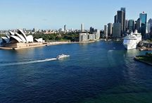 Australia and New Zealand / Cruise destinations in Australia and New Zealand