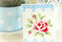 Cross Stitch, Embroidery and Needlepoint / by Heart Handmade UK Craft and Decor Blogger