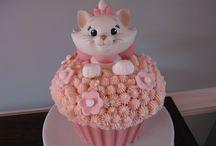 Marie Aristocats Cakes