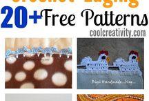 Crochet Tutorials Borders and Edging