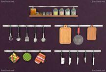 Sims4 cc kitchen