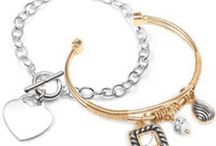 Personalized bracelets for her / Our personalized bracelets for her board is full of beautiful variety including rose gold, sterling silver, steel, leather bracelets and more!