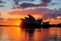 Beautiful places / Sydney Sunset