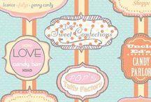 Dotties Sweet Shop Fabrics