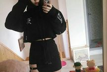 Goth korean girls
