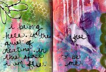 Art Journaling, Paper Crafting
