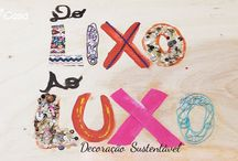 Decoração Sustentável - Do Lixo ao Luxo / Veja como reformar e transformar peças e móveis que iam para o lixo em lindos objetos de decoração. Gaste pouco e mude a sua casa com o faça você mesmo. zapemcasa.com.br   http://bit.ly/DoLixoaoLuxoZAP