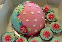 verjaardags taart Merel