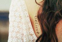 Tattoo of kids names idea