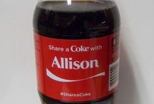 My name on things