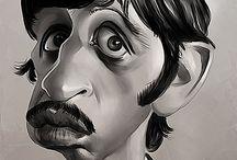 caricature - Beatles