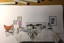 Interieur schetsen