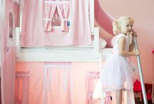 The Princess Diaries / Creating the perfect Princess bedroom for your little girl. Beds, furniture, castles, canopy beds & more!
