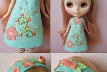 Felt Doll Dress