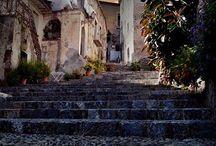 Around Scalea - Scalea e dintorni / Scalea seen by travelers - Scalea vista dai viaggiatori