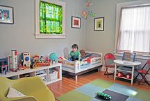Baby to toddler room ideas / by Brooke Cameron