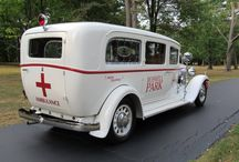 Old Ambulance's/Fire Truck's/Police Car's