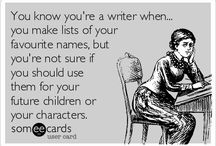 Author Humor / Let's face it, the life of an author can be a funny thing...
