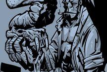 Hellboy-portfolio / Tavole studio e illustrazioni per Hellboy
