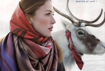 scarves, knots