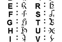 Símbolos y alfabetos