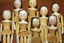 Wooden Dolls / by Patty Preston