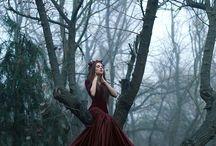 dress / dramatic style