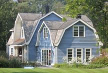 Blue & White Cottage / The Blue family lives here:-) / by Johanna Davis