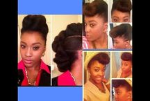 Hair styles / by Hope Williams
