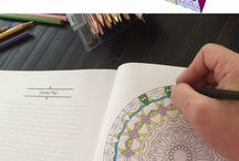 ADULT  coloring books...be a kid again..and again...and again!