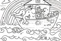 Christian Colouring Pages Printables
