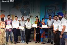 Certificate Award Ceremony 9 June 2015