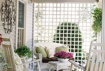 Courtyards, Patios & Porches / by Thresa Whitaker
