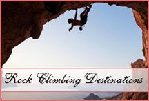 Rock Climbing Honeymoons / If you love to rock climb, you'll love these destinations!  http://www.10honeymoondestinations.com/10-rock-climbing-honeymoon-destinations/