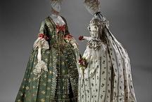 History of fashion: XVIII c / Style and fashion (male, female, children, jewelry, home decor, etc.) of XVIII century.