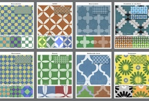 MoRockAnSoul / Moroccan inspired designs for Casart coverings temporary wallpaper.