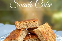 oatmeal banana snack cake