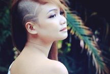 Side Shaves hair styles for women / My collection side shaved hair styles from anywhere in the globe. I just did my side shaved and I hope this will help you to decide.