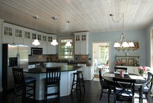 Kitchens by Dickinson Homes / a collection of kitchens in homes designed and built by Dickinson Homes