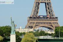 Statua Wolności w Paryżu / Niedaleko Wieży Eiffle znajduje się paryska Statua Wolności - kopia pomnika z USA. Zobacz, jak ją znaleźć: http://zwiedzamyparyz.pl/paryz-nieznany/statua-wolnosci-w-paryzu