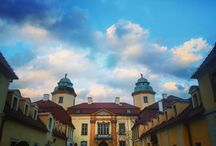 Książ Castle 19 April,2016. Amazing sky