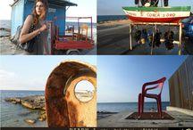 _D I A R Y_ / _D I A R Y_n° 1_ ...travels...notes and more foto:Antonella Costanza  model: Navy location: Bari-San Giorgio