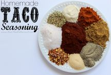 RECIPES: Dry Seasoning Mixes / by Wendy Epps